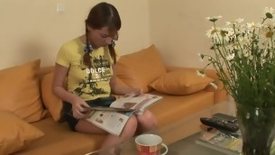 tenåring hardcore amatør russisk