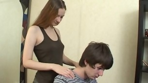 Dude gets satisfied by agile legal age teenager sweetheart, who adores sex games
